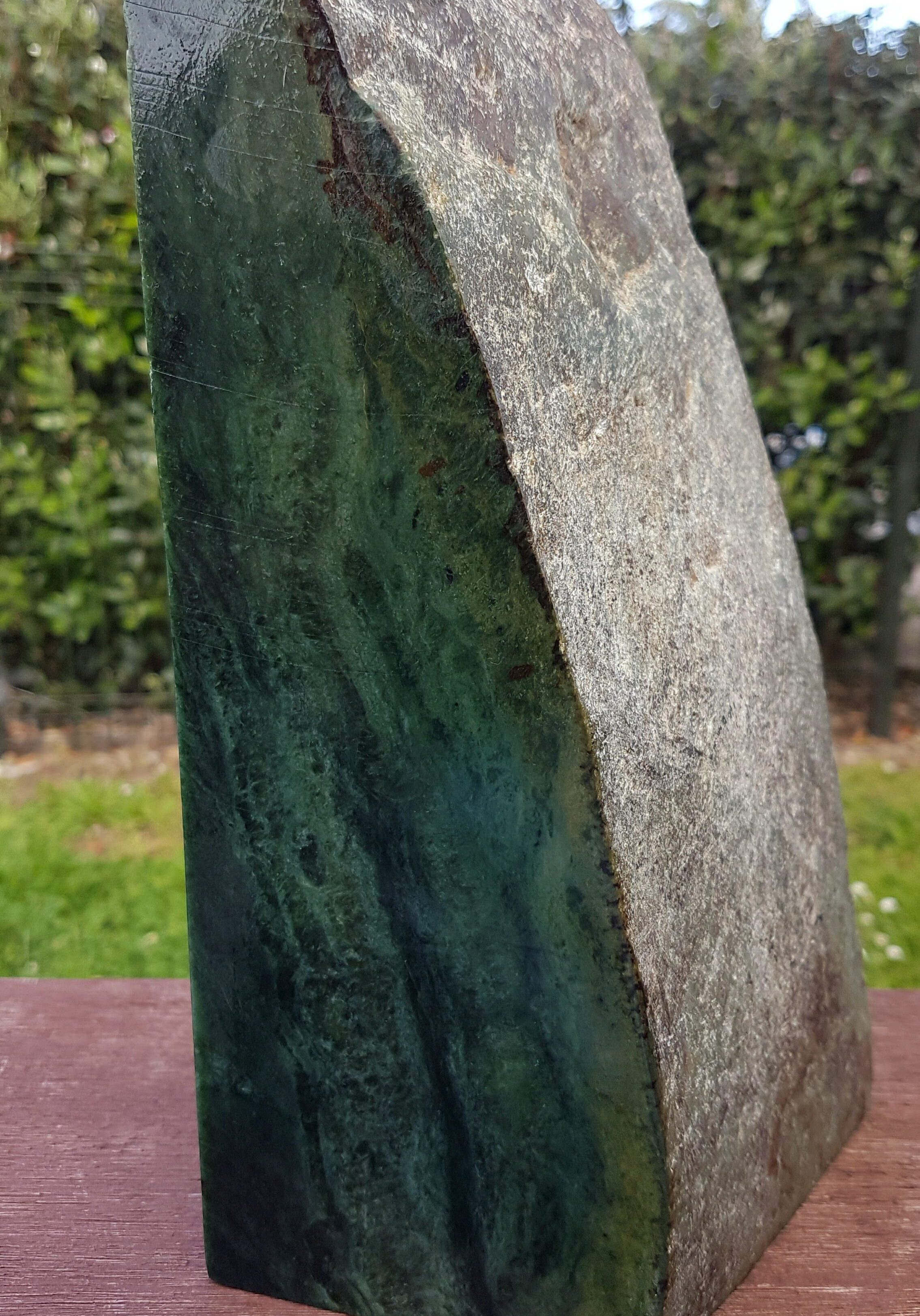 Pounamu carver campbell carving new zealand